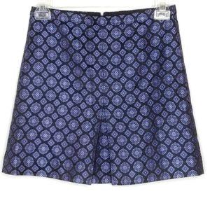 J. Crew Silk Mini Skirt